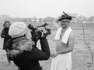 Si rievoca Fellini 8e 1/2 sulla spiaggia di Rimini