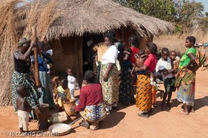Centro nutrizionale a Ndola, Zambia