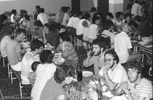 Pranzo alla due giorni 1982